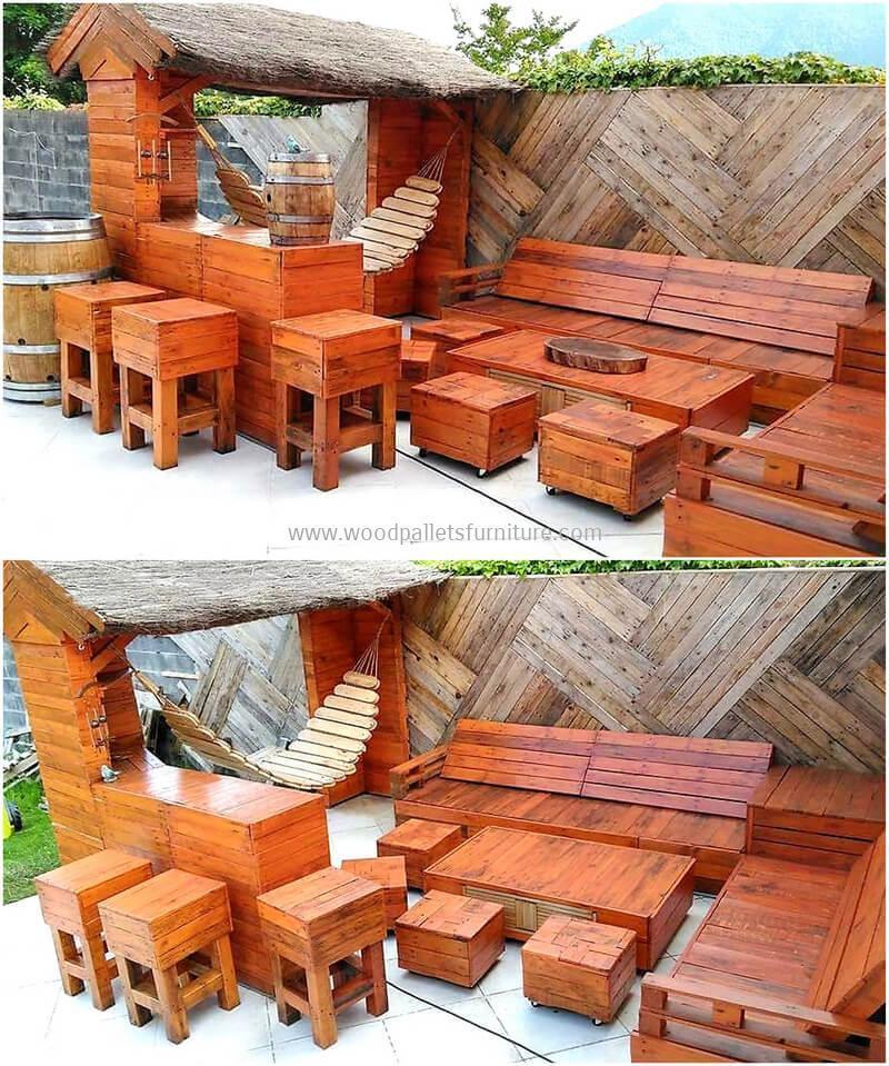 wood pallet bar plan 18