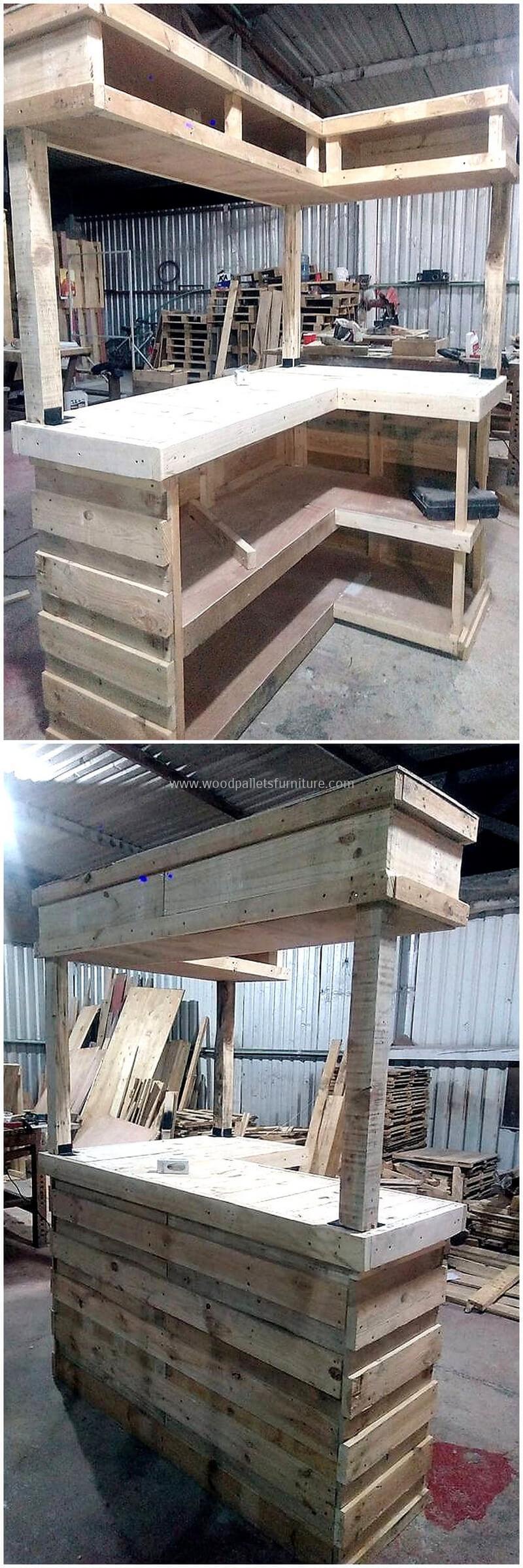 wood pallet bar plan 19
