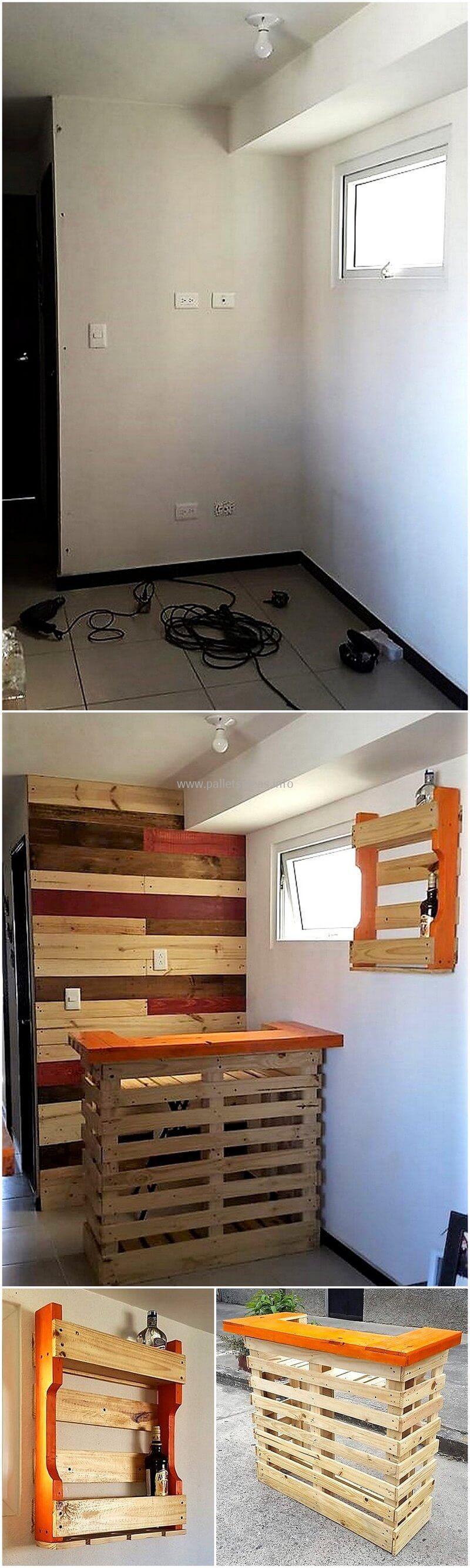 wood pallet bar plan 2