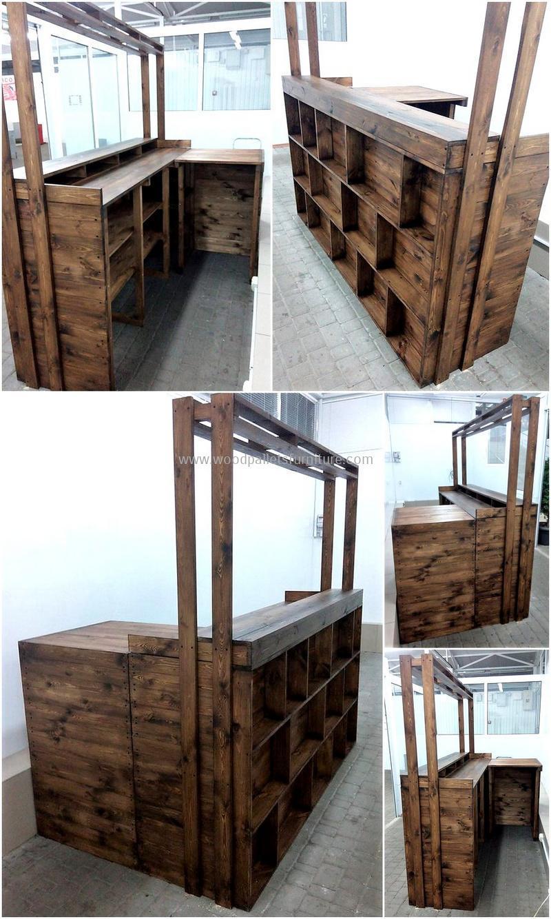 wood pallet bar plan 21- 2