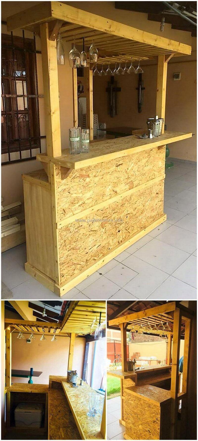 wood pallet bar plan 21