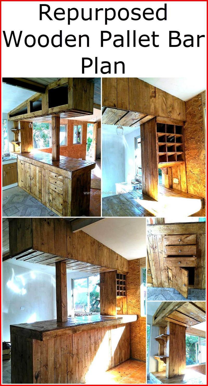 wood pallet bar plan 25