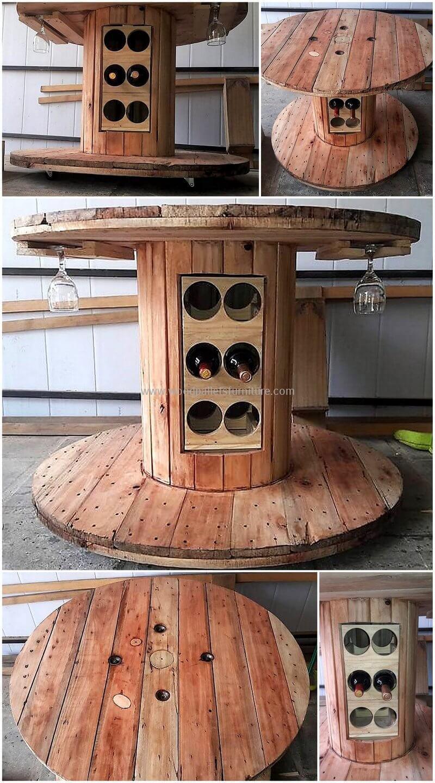 wood pallet bar plan 255