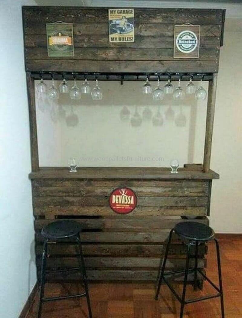 wood pallet bar plan 256