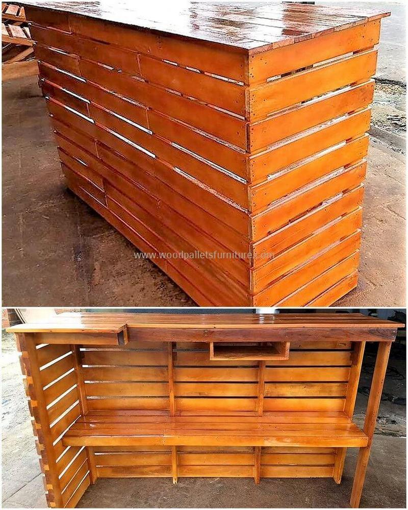 wood pallet bar plan 257