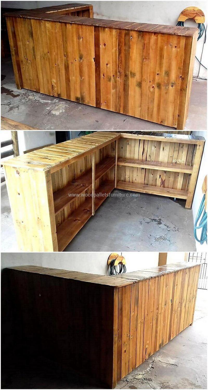 wood pallet bar plan 259