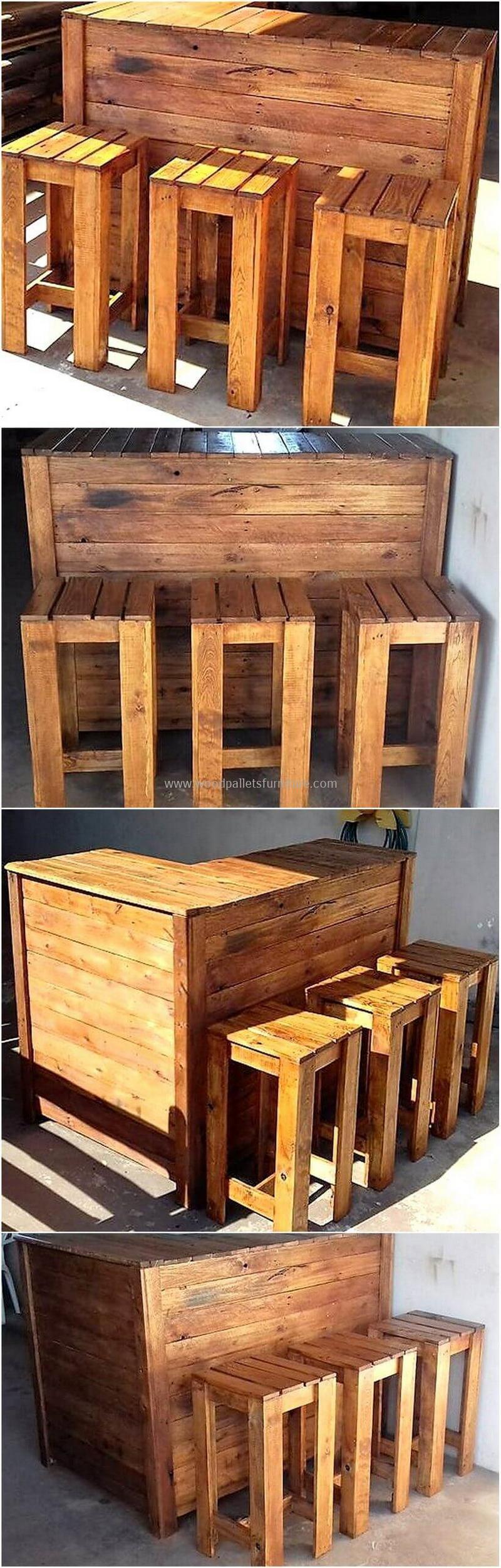 wood pallet bar plan 260