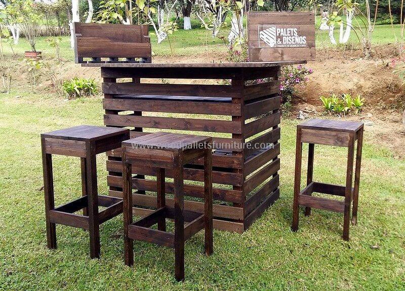 wood pallet bar plan 265