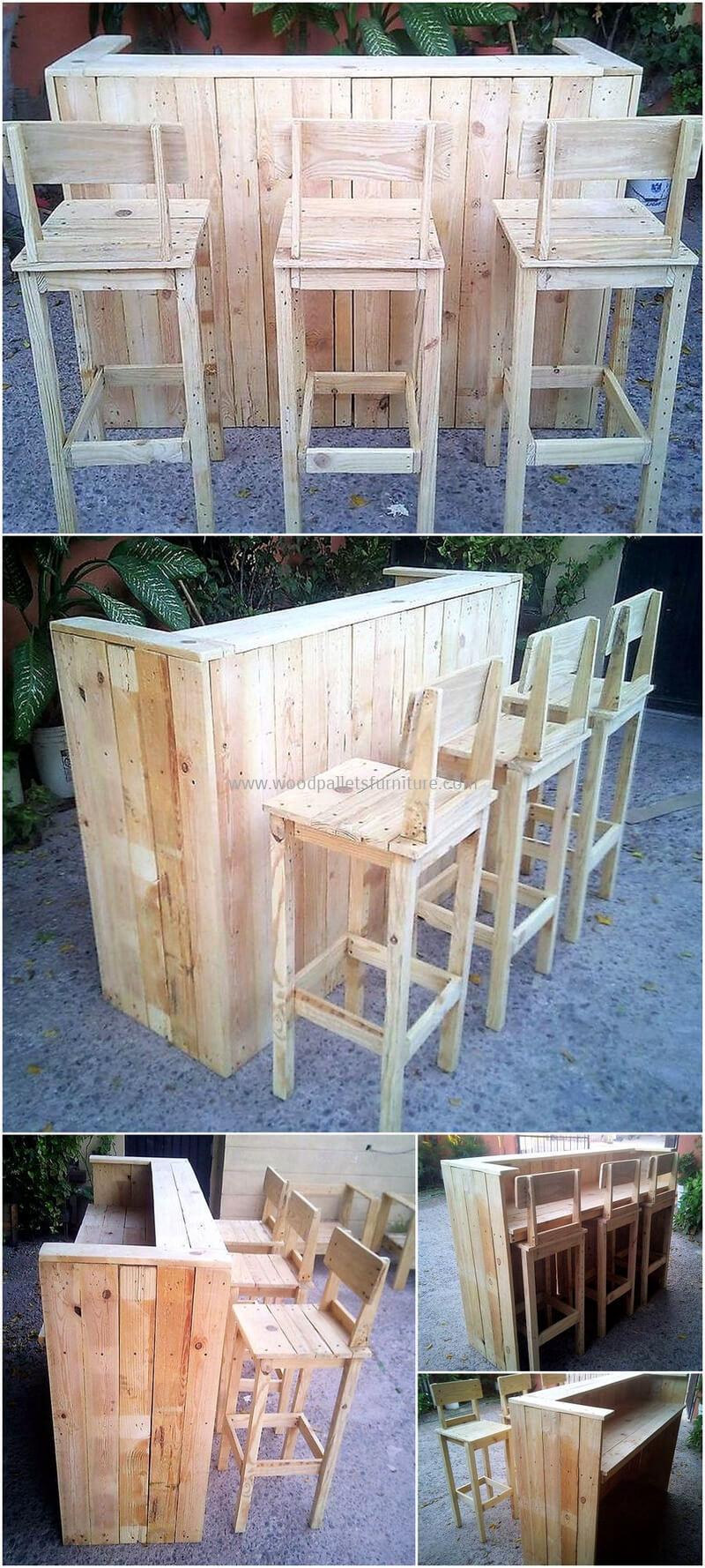 wood pallet bar plan 268