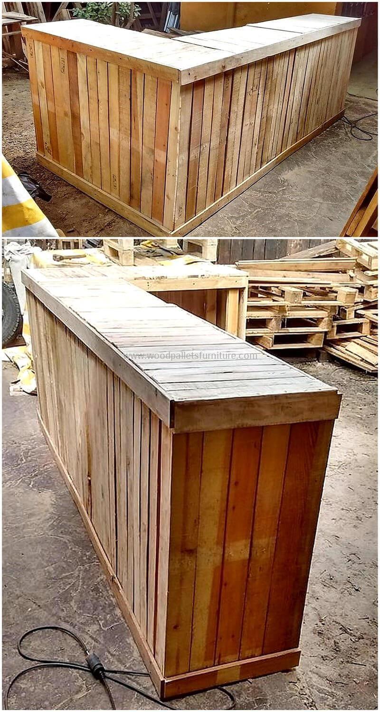 wood pallet bar plan 275