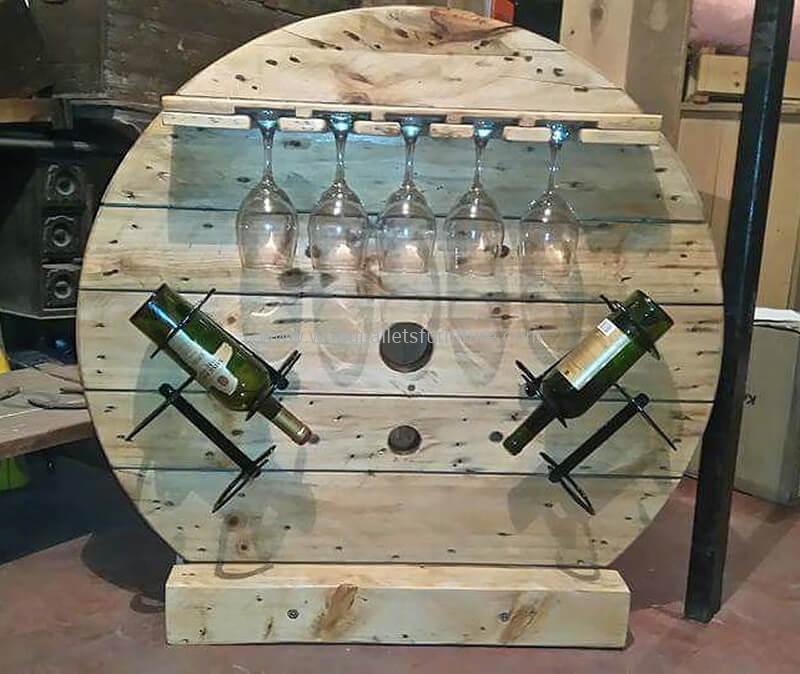 wood pallet bar plan 278