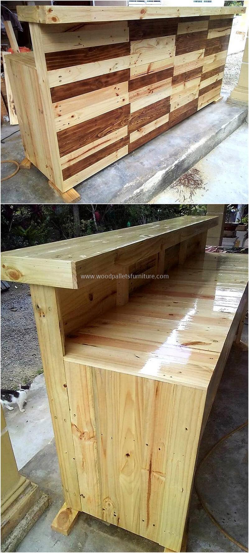 wood pallet bar plan 282