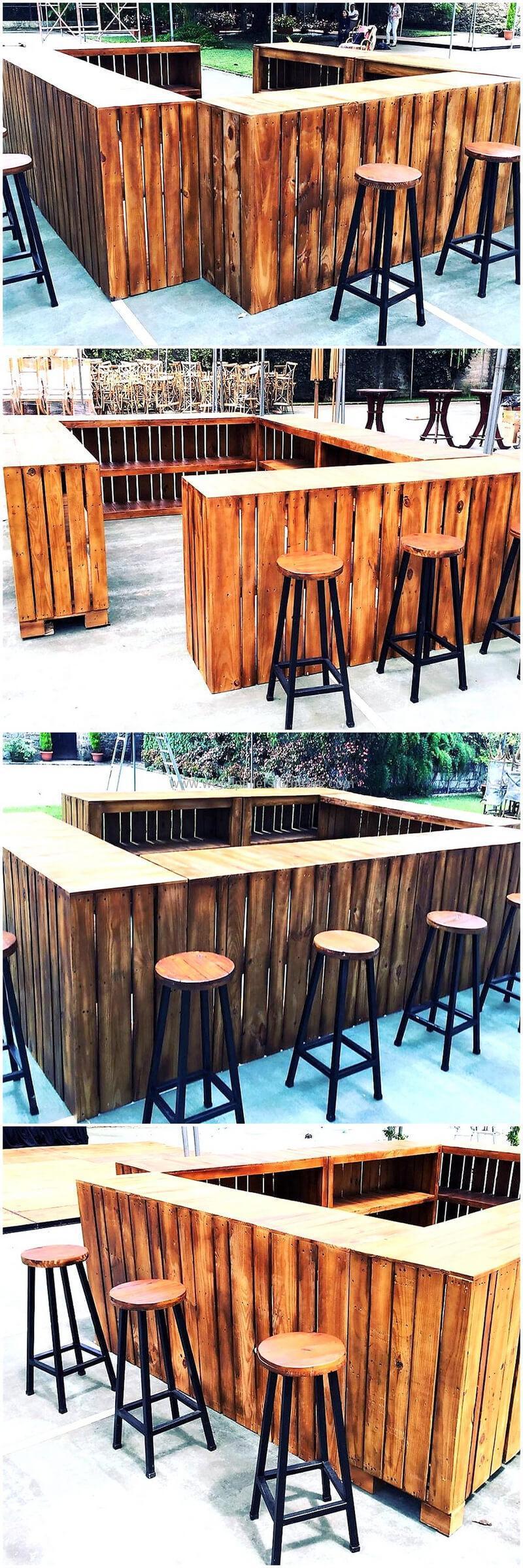 wood pallet bar plan 286