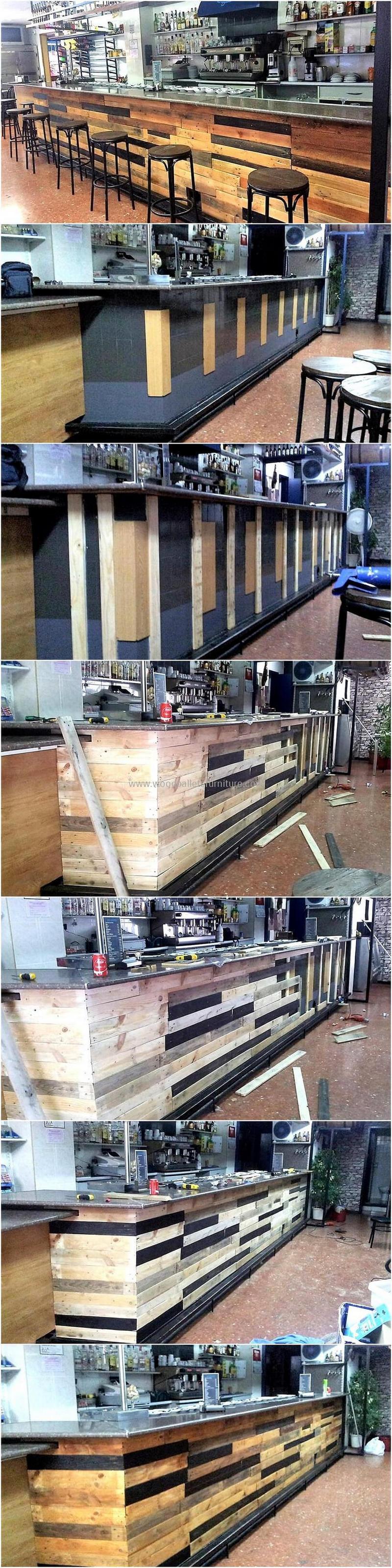 wood pallet bar plan 290