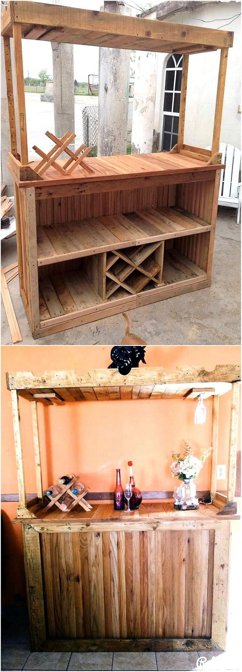 wood pallet bar plan 291