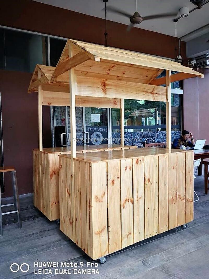 wood pallet bar plan 295