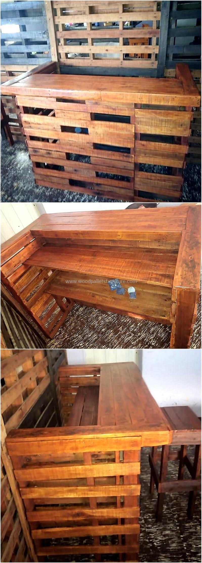 wood pallet bar plan 296