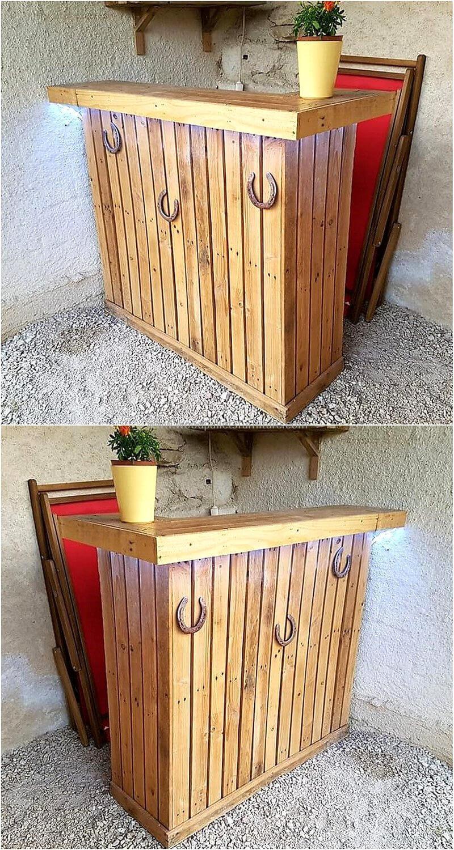 wood pallet bar plan 298