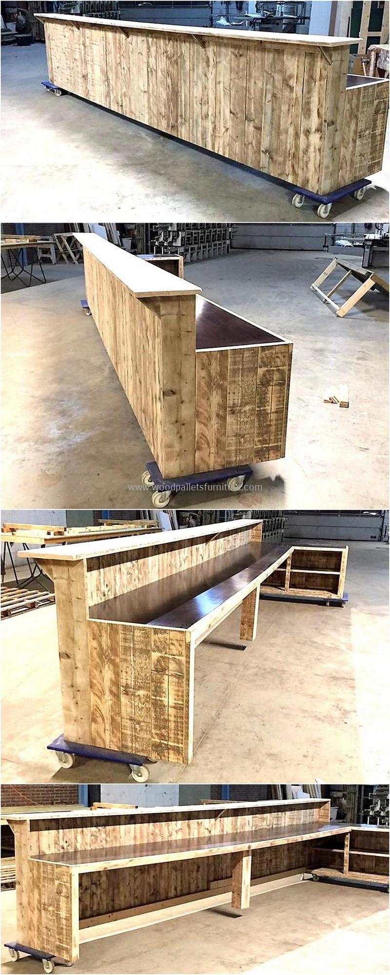 wood pallet bar plan 30 - 2