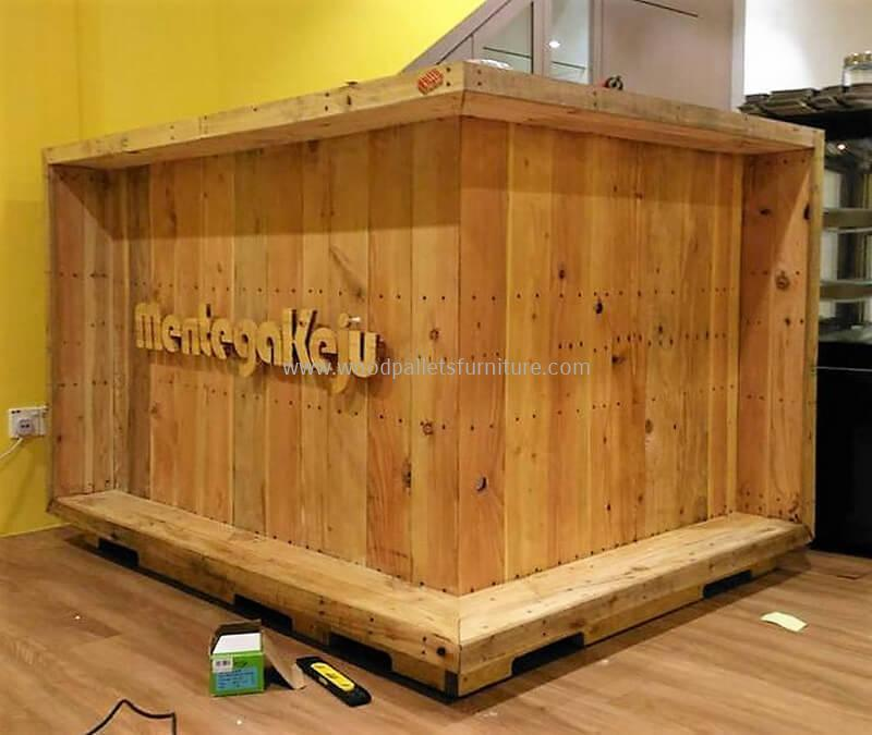 wood pallet bar plan 303