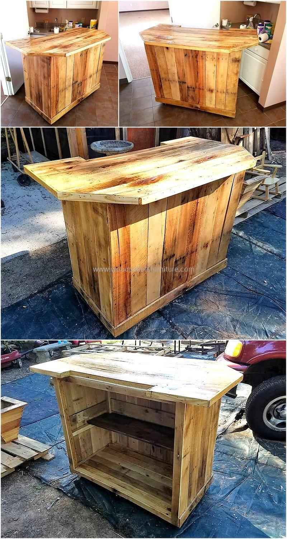 wood pallet bar plan 308