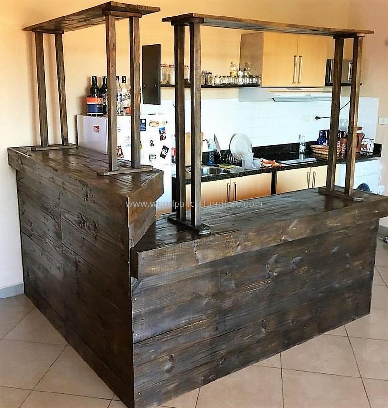 wood pallet bar plan 310