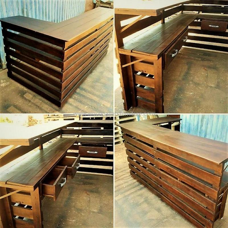 wood pallet bar plan 313