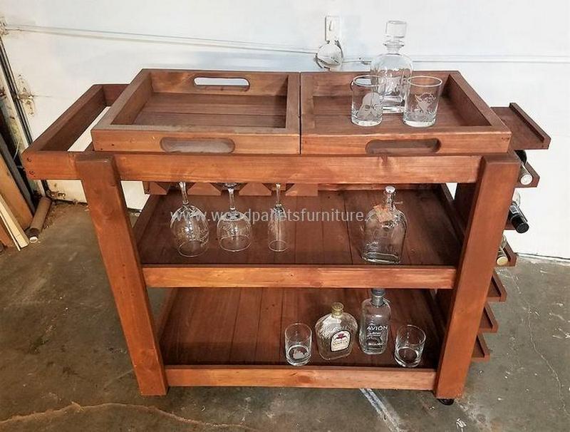 wood pallet bar plan 314