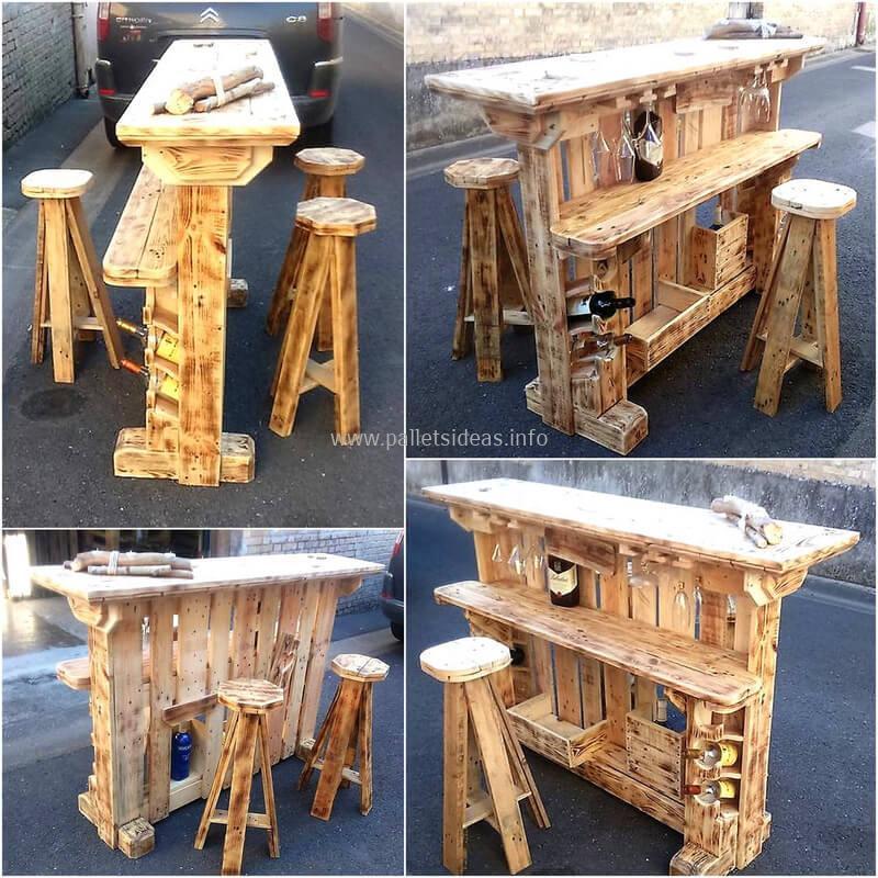 wood pallet bar plan 34