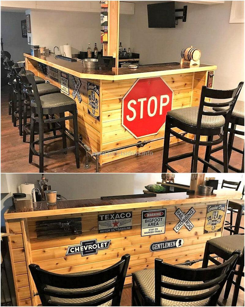 wood pallet bar plan 36