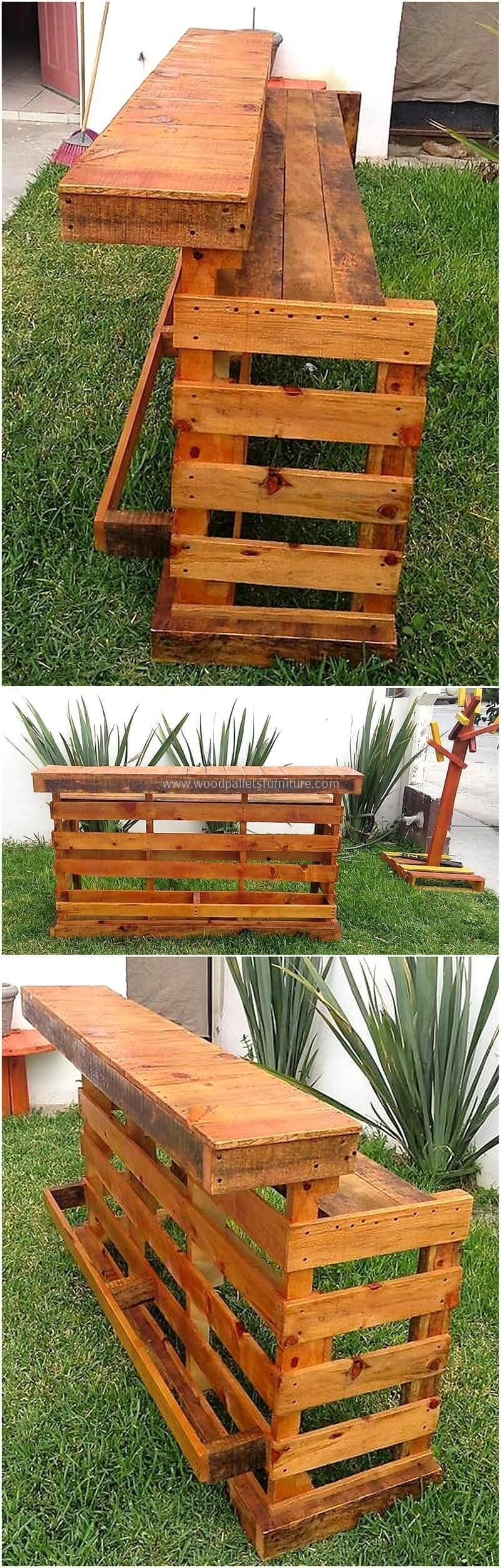 wood pallet bar plan 4