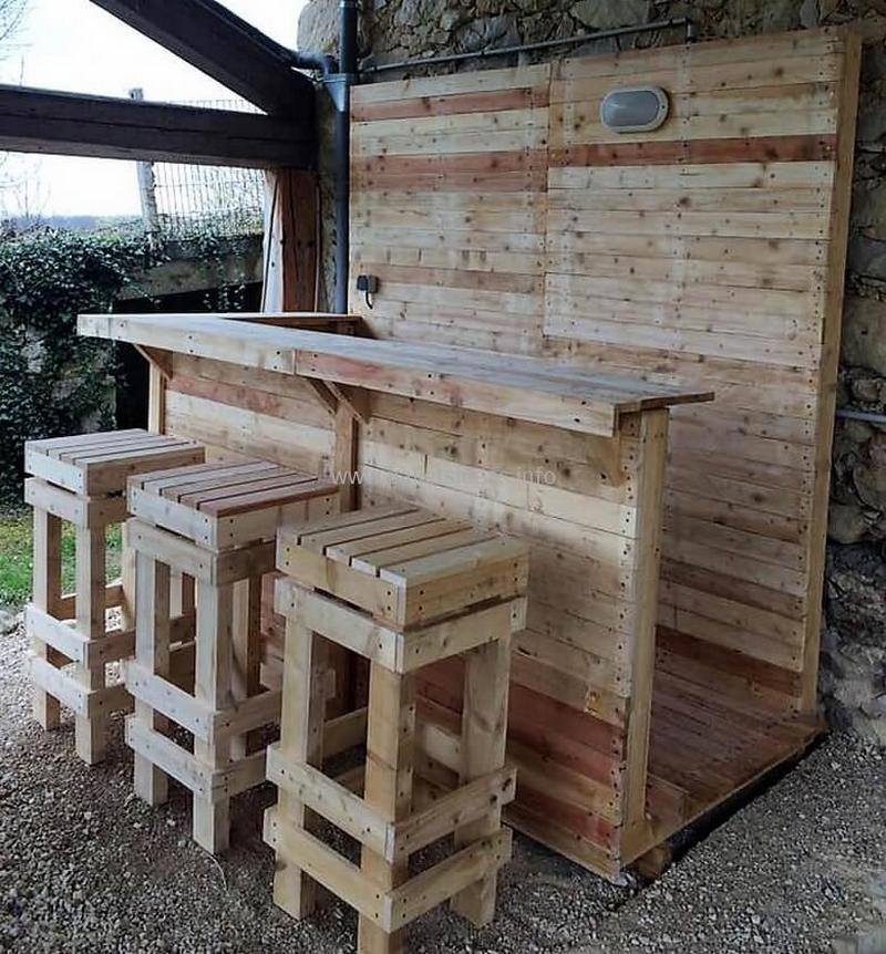 wood pallet bar plan 42