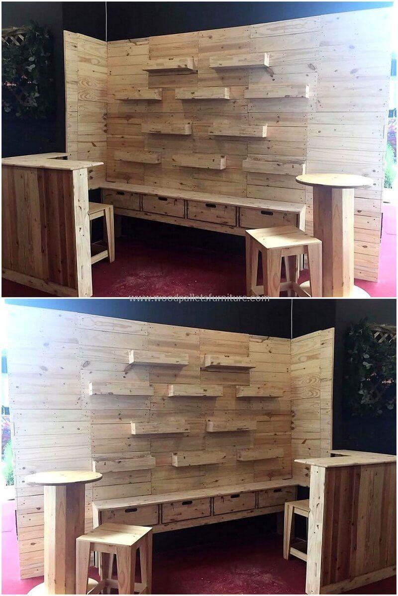 wood pallet bar plan 46