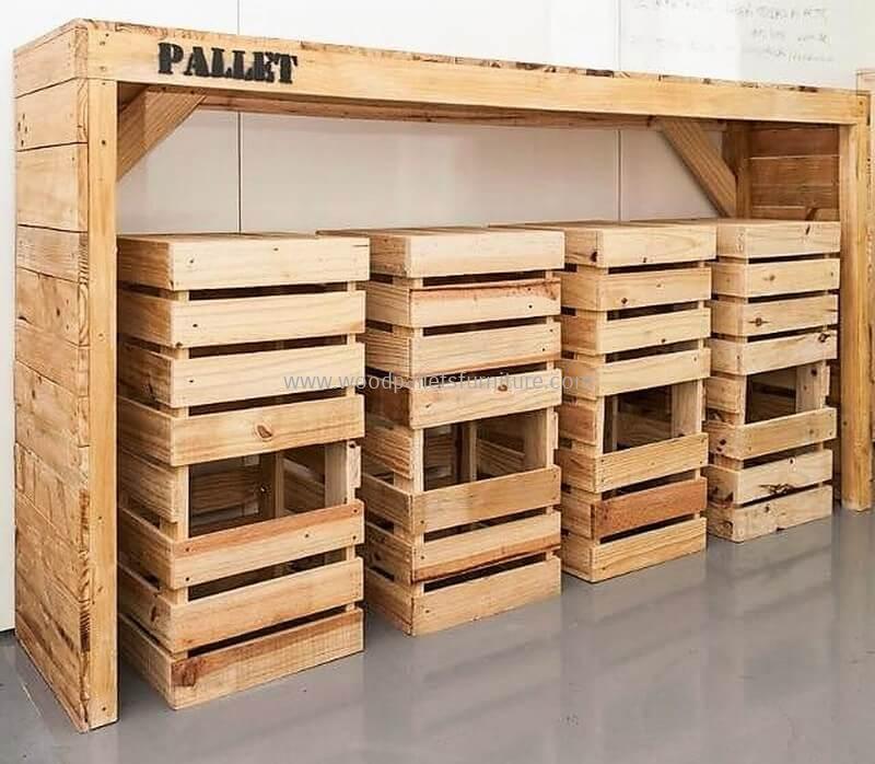 wood pallet bar plan 47