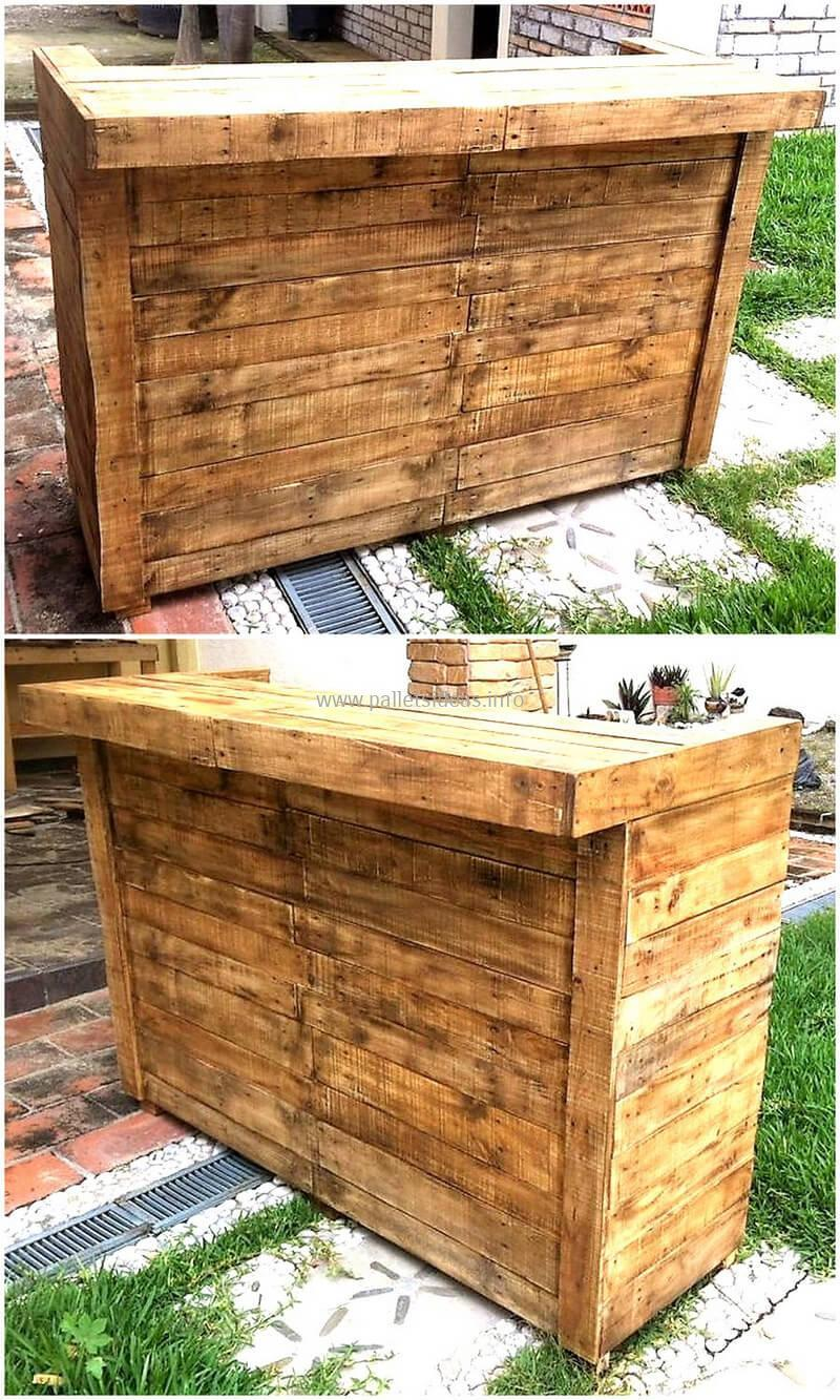 wood pallet bar plan 55