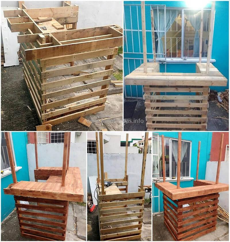 wood pallet bar plan 58