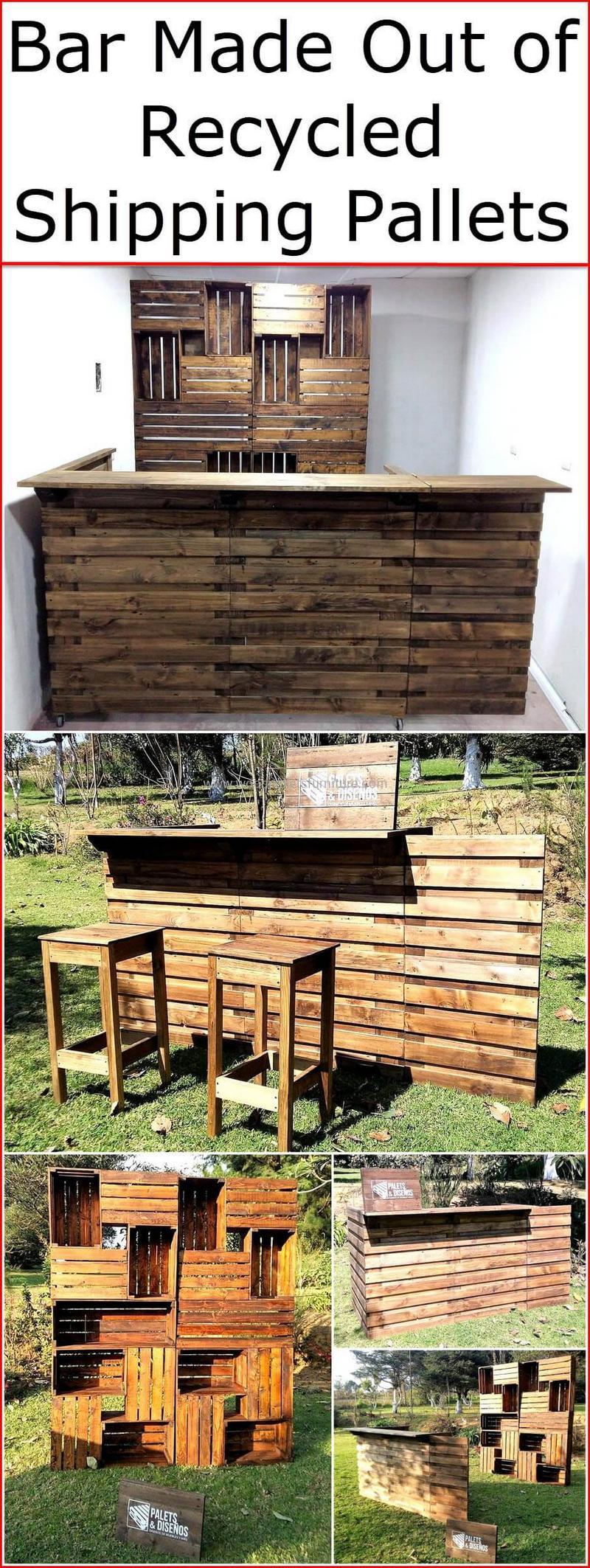 wood pallet bar plan 6