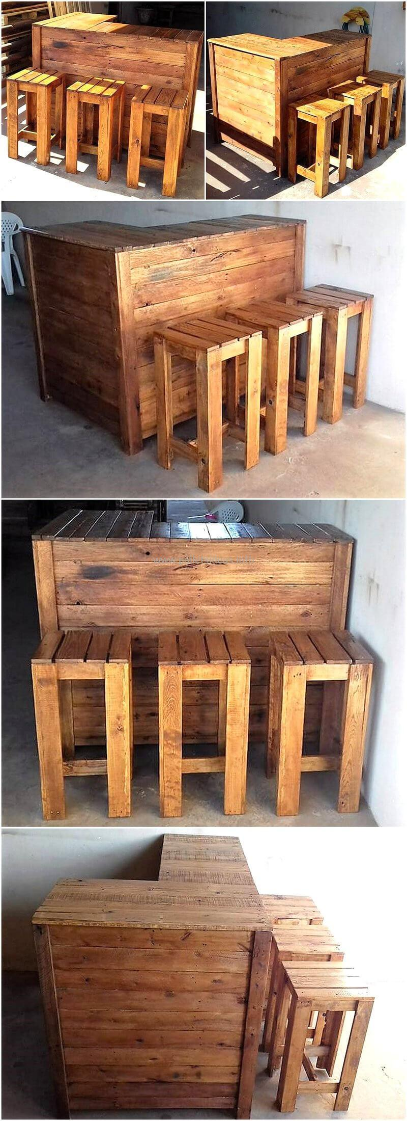 wood pallet bar plan 61