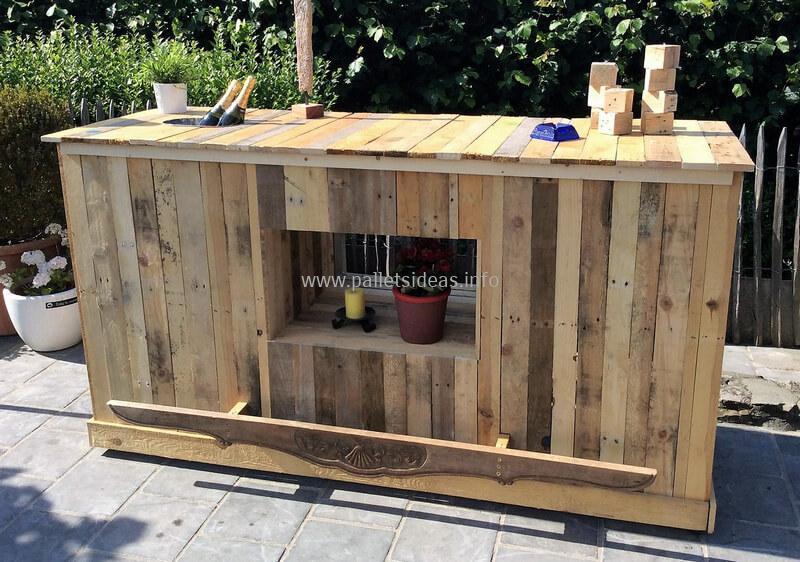 wood pallet bar plan 64