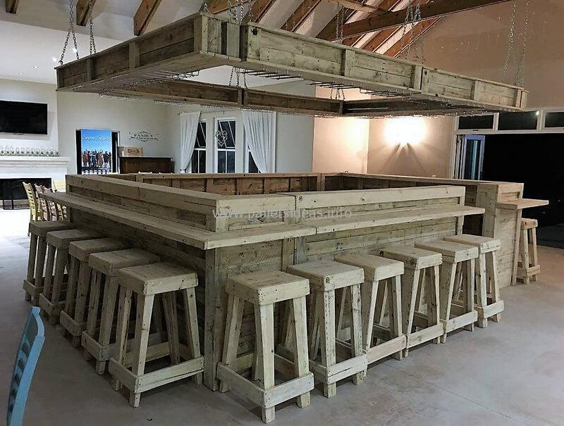 wood pallet bar plan 66