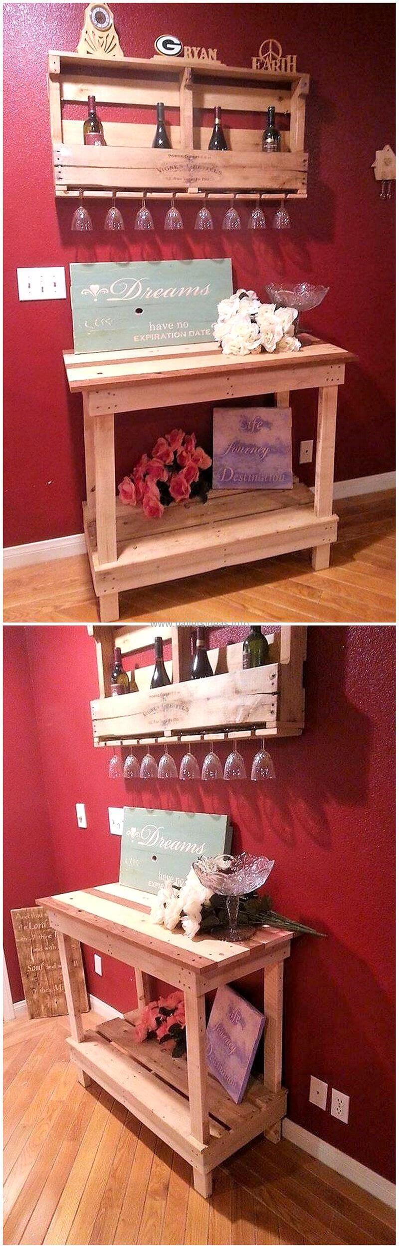wood pallet bar plan 72