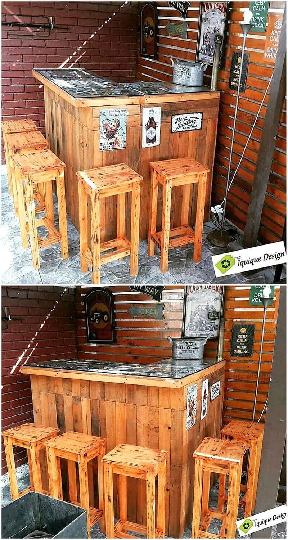 wood pallet bar plan 77