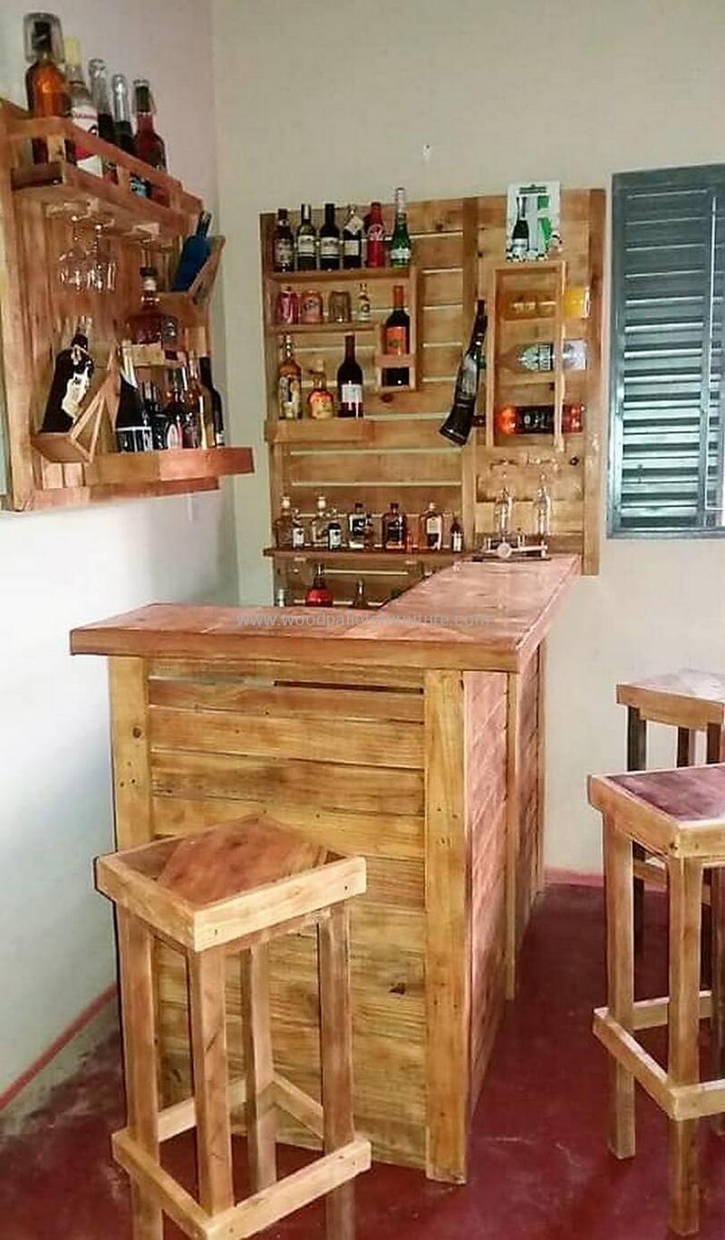 wood pallet bar plan 78
