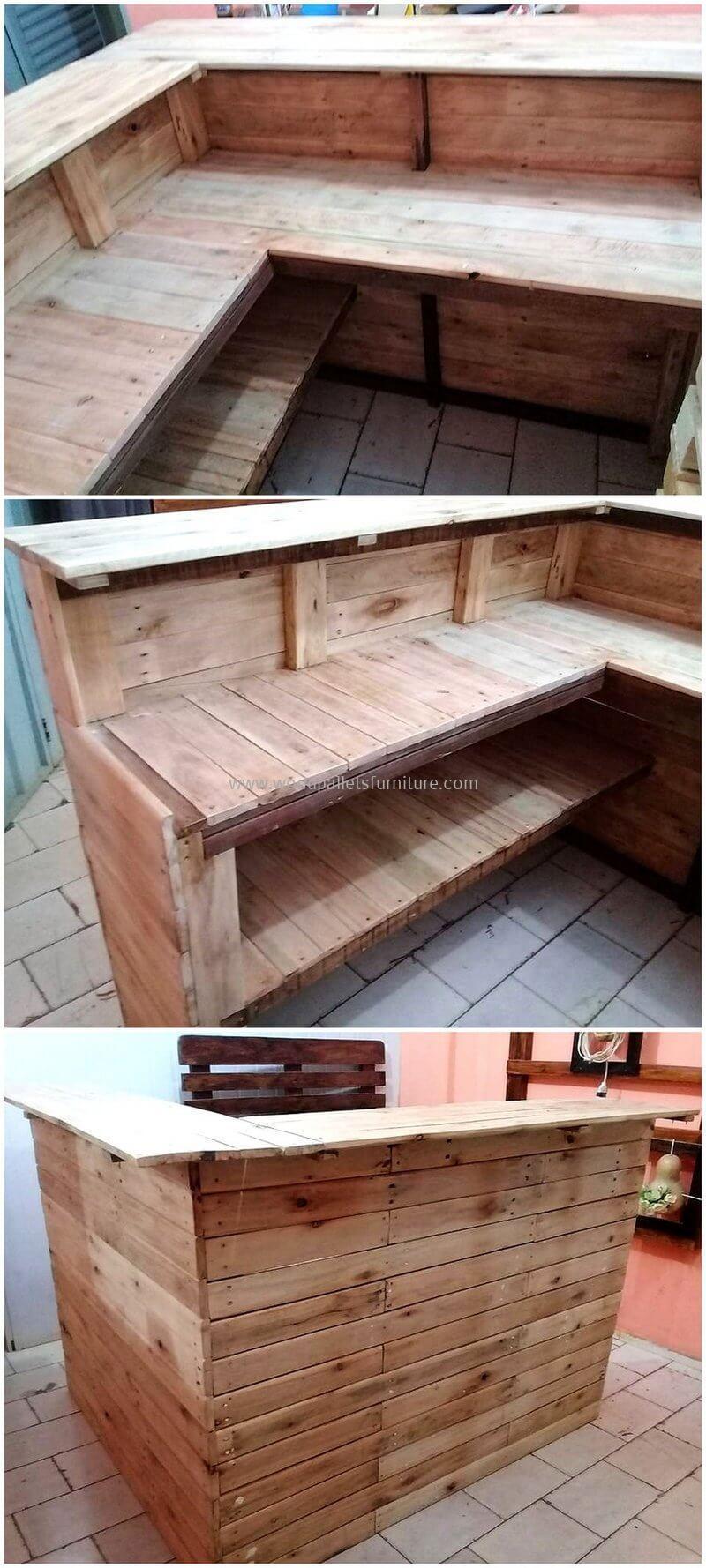 wood pallet bar plan 81