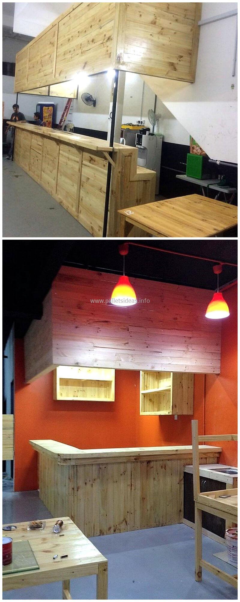 wood pallet bar plan 85