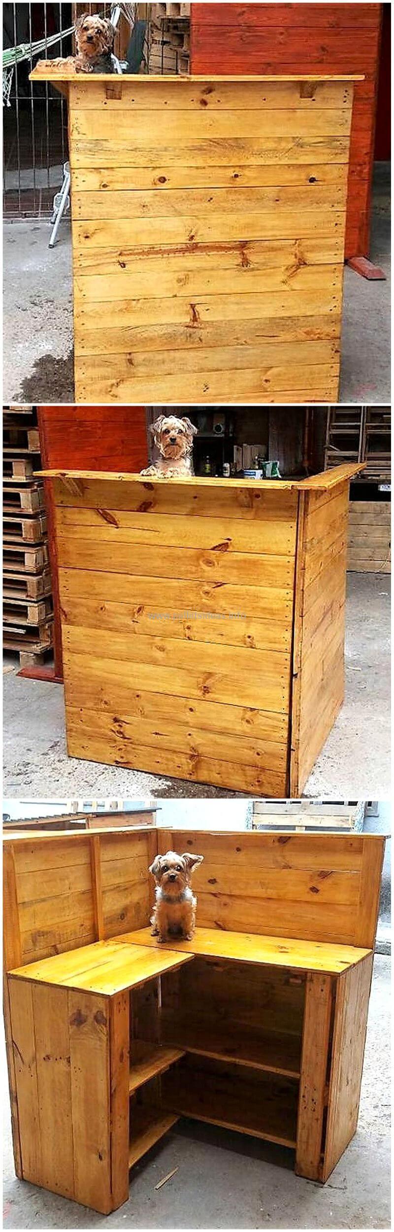 wood pallet bar plan 87