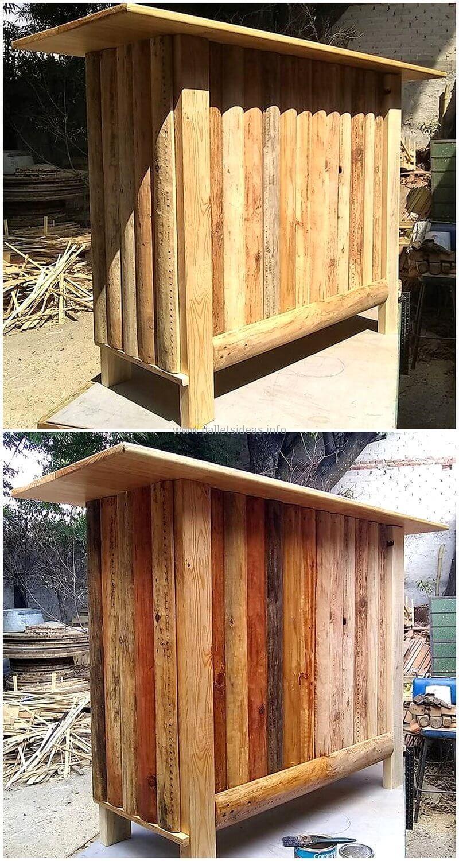 wood pallet bar plan 90
