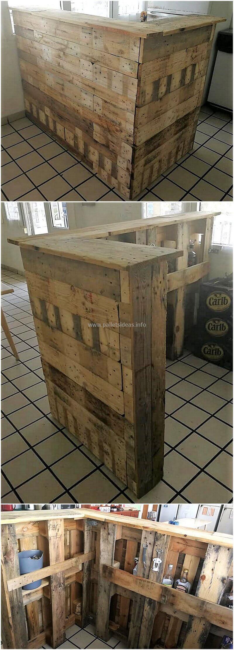 wood pallet bar plan 91