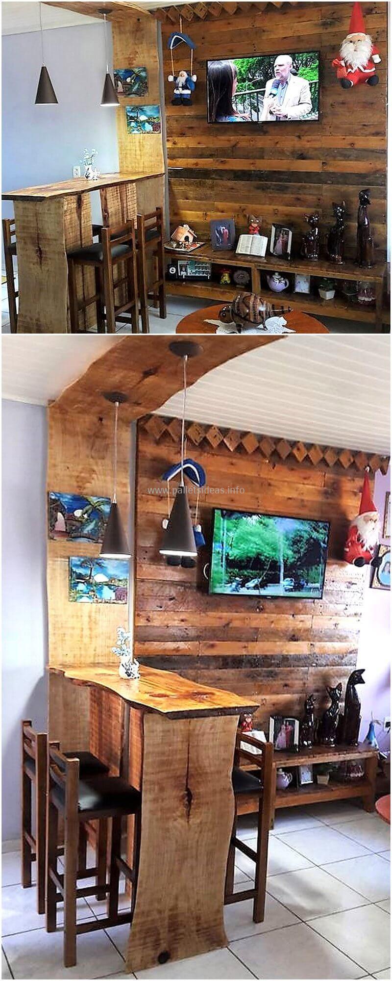 wood pallet bar plan 97