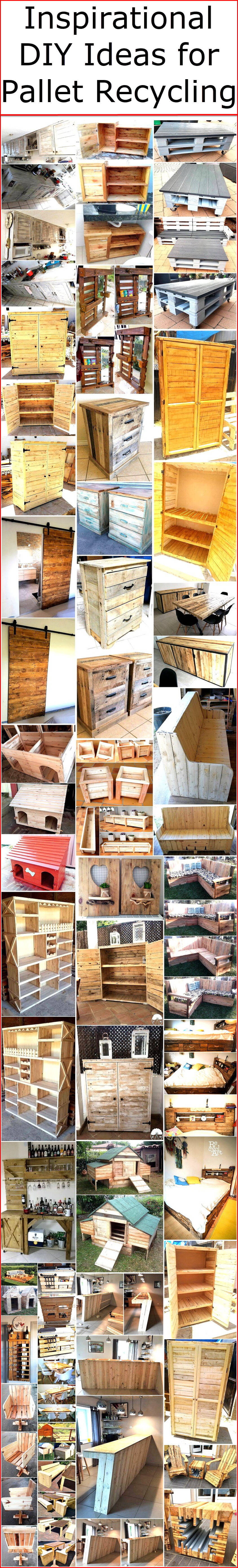 Inspirational DIY Ideas for Pallet Recycling